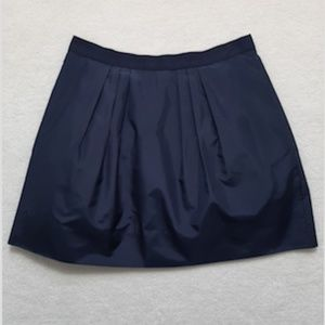 J.Crew Marvelle silk taffeta mini skirt